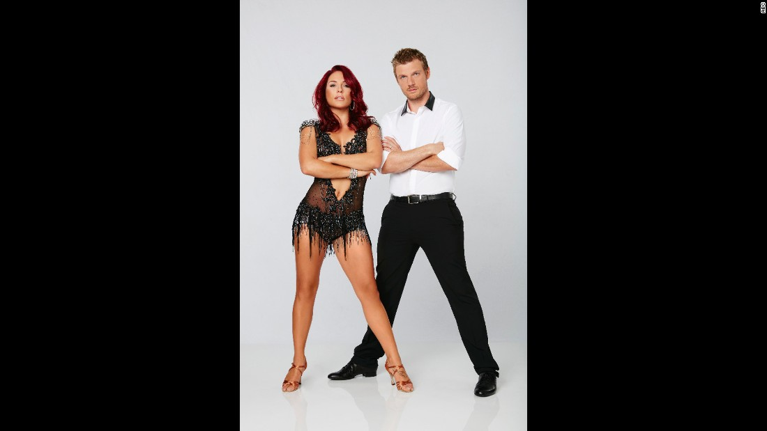 Backstreet Boy Nick Carter and pro partner Sharna Burgess are also in contention in this season's competition.