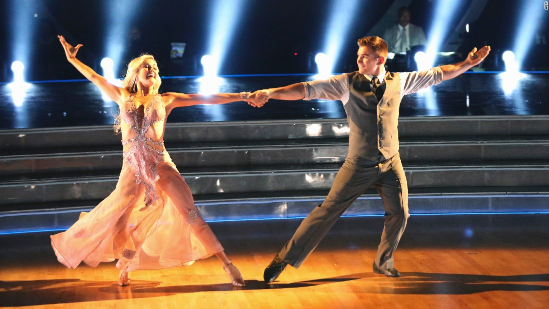 Alek Skarlatos, one of the heroes who stopped a terror attack on a French train over the summer, is dancing with pro Lindsay Arnold.