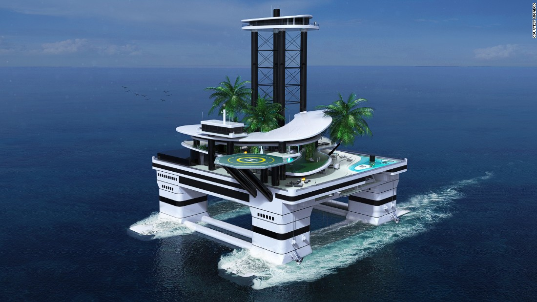 The world of yacht design has seen some pretty out-there concepts in recent  years