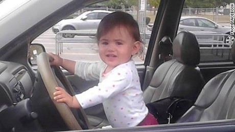 """Baby Doe"" has been identified as Bella Bond, seen her in a family photo taken from Facebook."