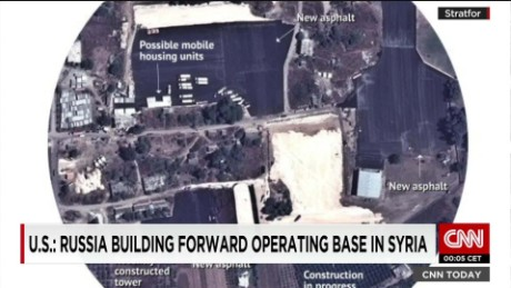 New Images purport to show building of Russian air base