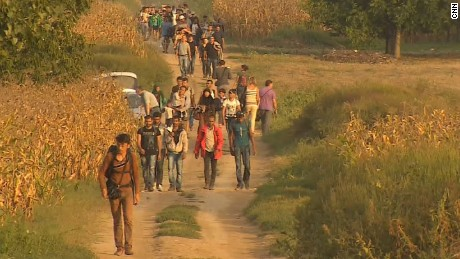 Following the migrant trail across Europe