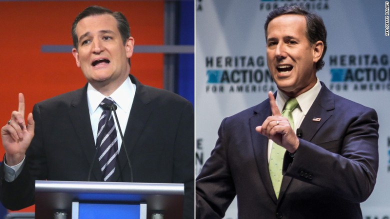 Cruz, Santorum weigh in on Trump controversy