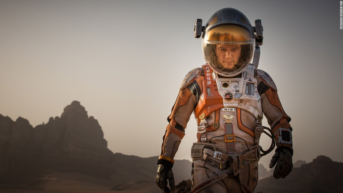 "<strong>Best actor in a motion picture -- musical or comedy:</strong> Matt Damon, ""The Martian"""