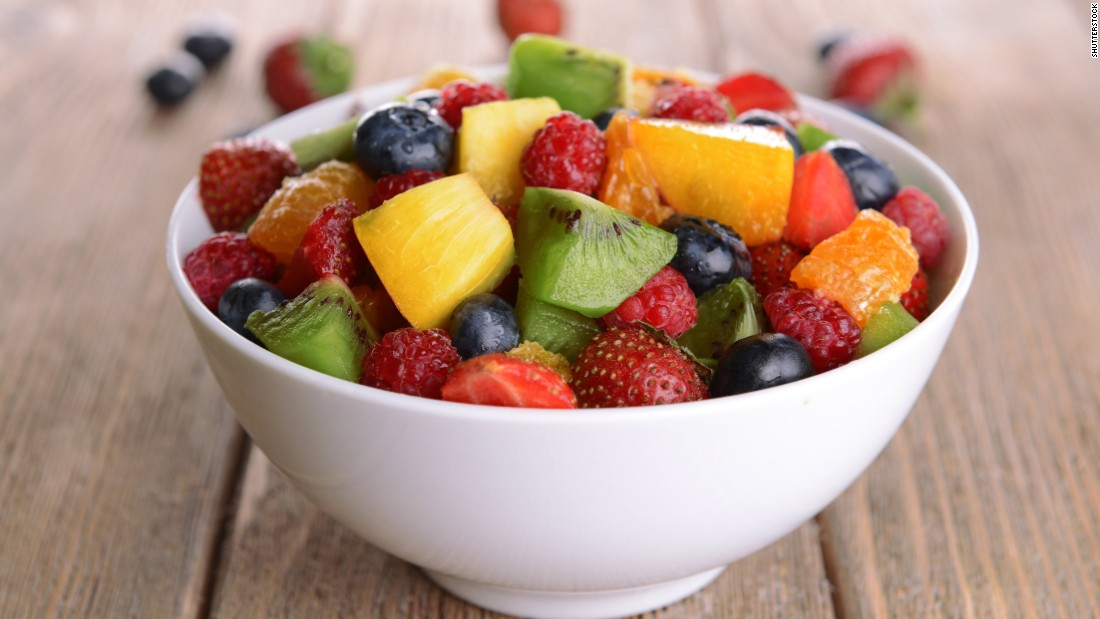 Fruit salad accounts for 5.5% of youth fruit intake.