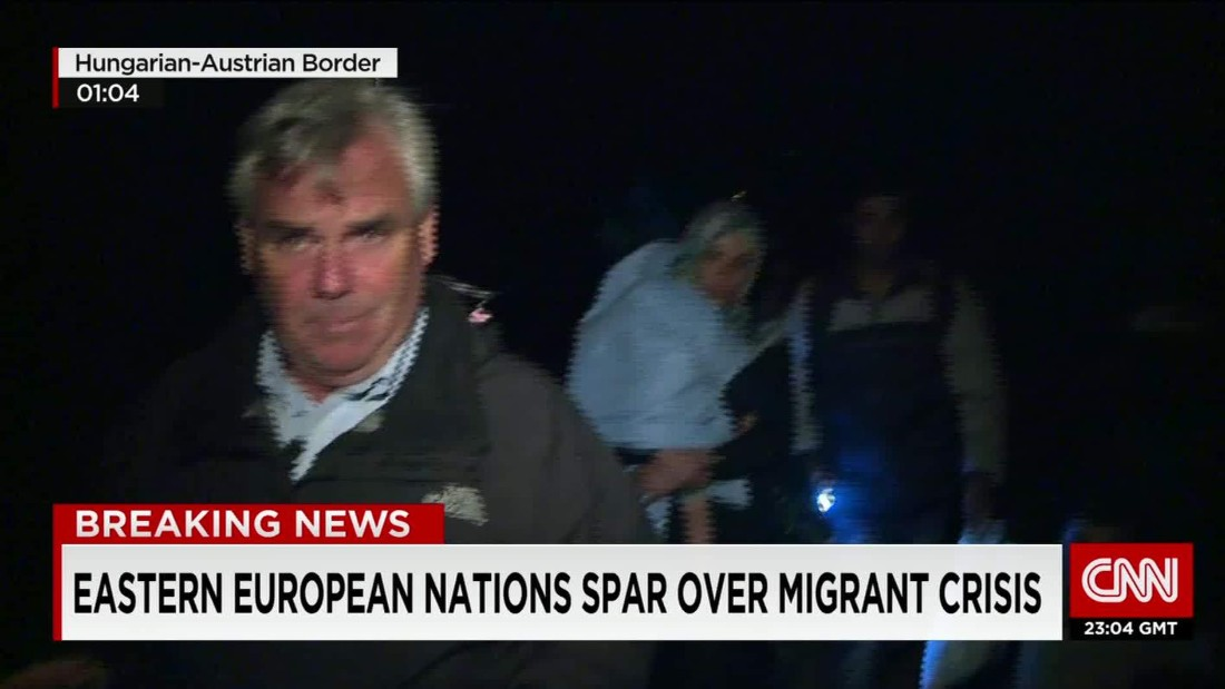 Europe struggles to cope with migrants' march of misery