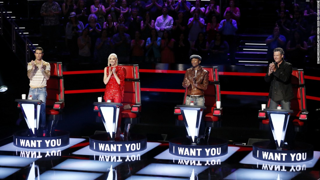 "<strong>Outstanding Reality-Competition Program:</strong> ""The Voice"""