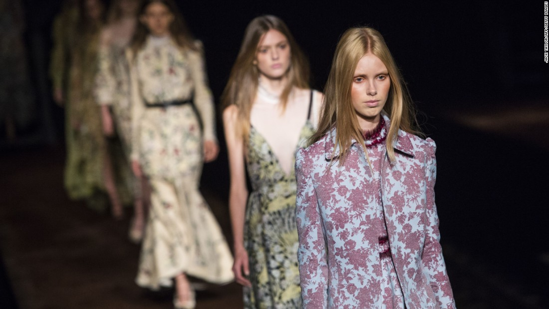 What's spring without florals? Erdem, as always, delivered in spades.