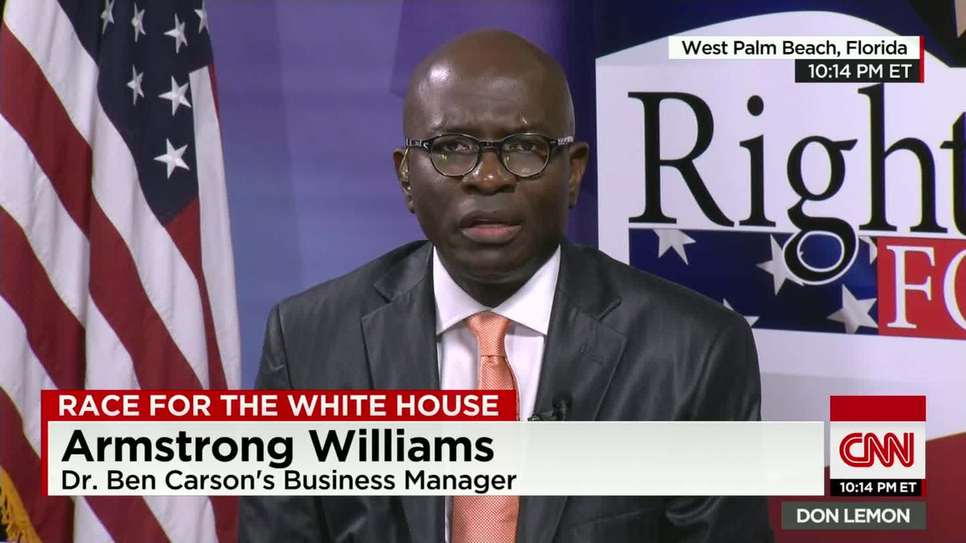 Armstrong Williams More people should be outraged CNN Video