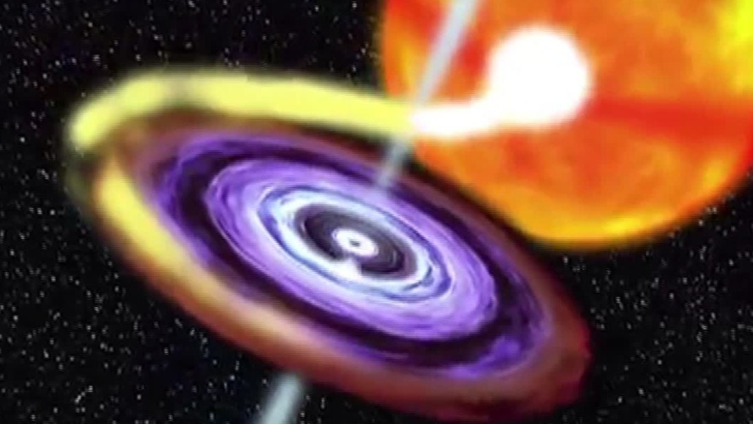 Black hole is 30 times bigger than expected