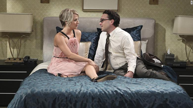 Kaley Cuoco: Filming love scenes with ex Johnny Galecki