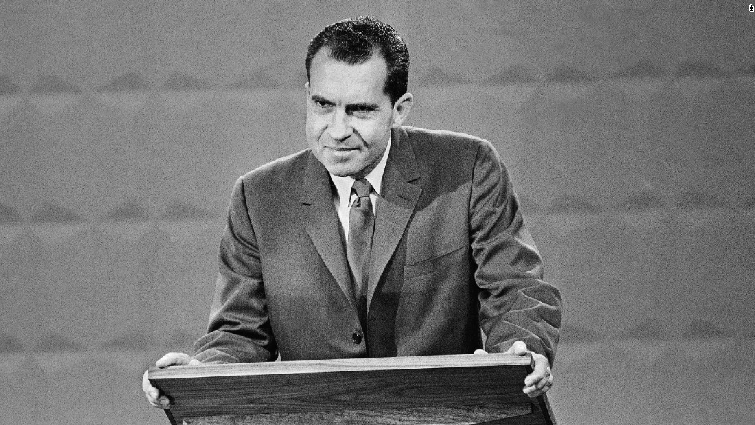 Nixon, 47, was vice president under Republican President Dwight D. Eisenhower. Eisenhower had reached his two-term limit.