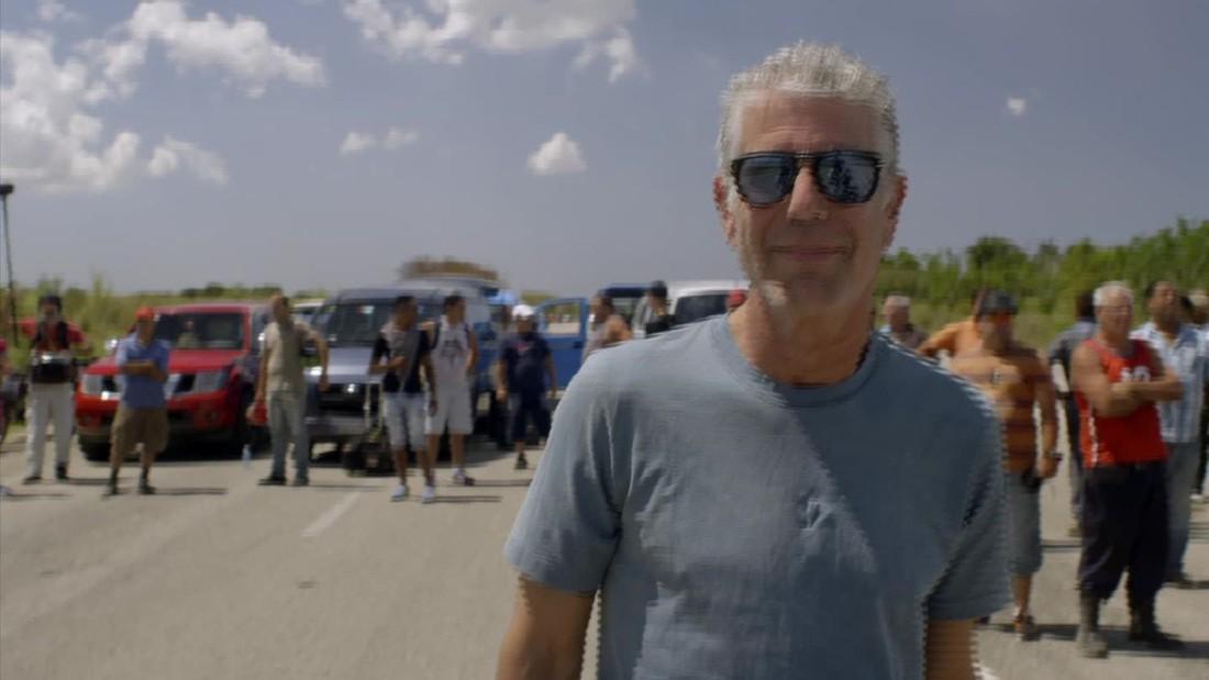 Bourdain finds change -- and good rum -- in Cuba