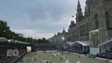 The penultimate leg of the world's premier jumping series