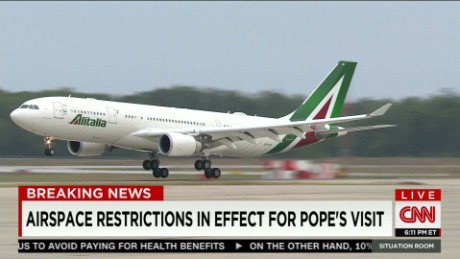 The Pope's potential aerial threat_00000000