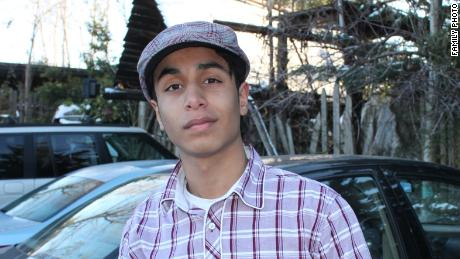 Ali al-Nimr, a young Saudi man, sentenced to death for antigovernment protests.
