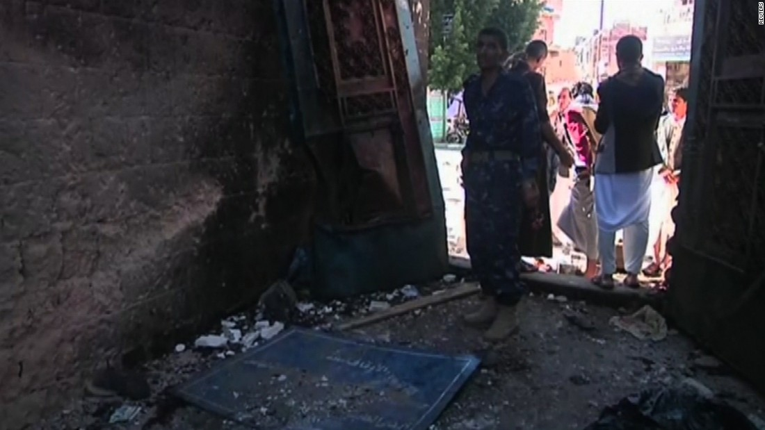 Yemen mosque bombing kills at least 29 during Eid prayers