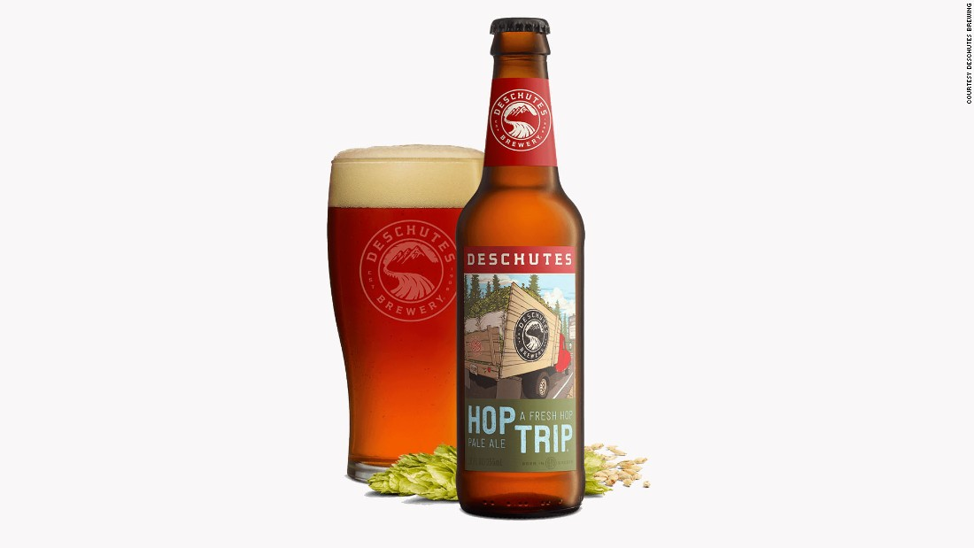 "If you like wet-hop beers -- brewed with fresh instead of preserved hops -- the <strong>Hop Trip</strong> from Oregon's <strong>Deschutes Brewing</strong> is one of the best. The brewer describes it as ""a pale ale with a uniquely bright citrus punch and fall spice."""