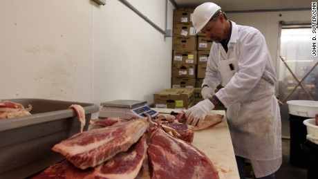 O'Brien Meats in Taylor, Texas, supplies high-quality beef to Snow's BBQ.