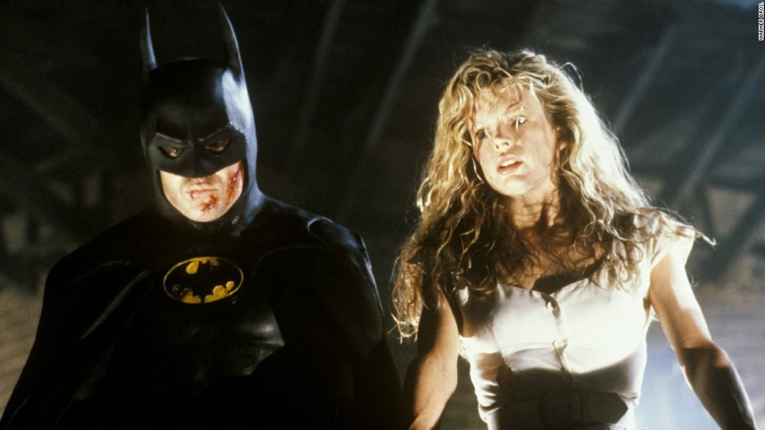 "<strong>""Batman"":</strong> Michael Keaton stars as the Caped Crusader and Kim Basinger as Vicki Vale. <strong>(Amazon Prime) </strong>"