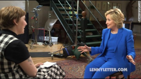 Related video: Clinton to Lena Dunham: I'm 'absolutely' a feminist