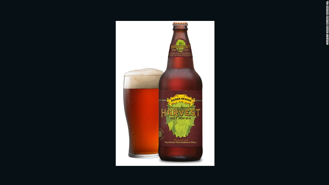 "<strong>Sierra Nevada</strong> also brews an acclaimed <strong>Harvest Wet Hop IPA</strong>. The brewer claims that using wet hops ""preserves all of the (hops') precious oils and resins for a unique drinking experience."""