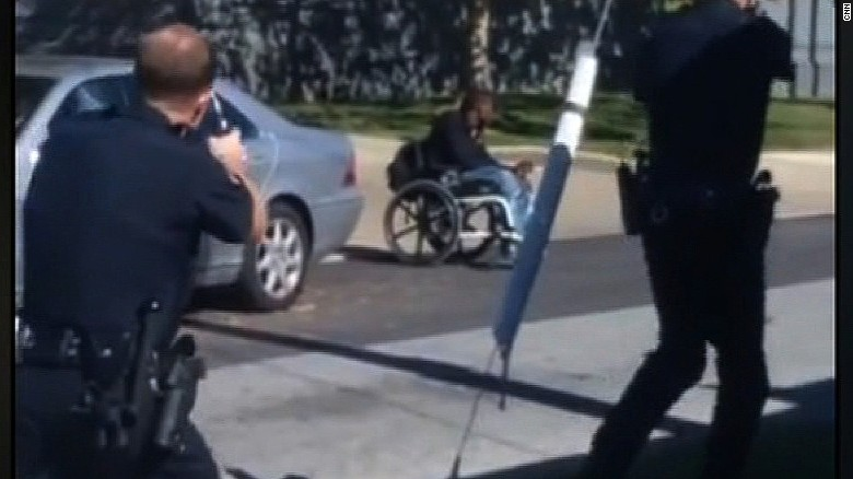 Delaware police shoot man in wheelchair