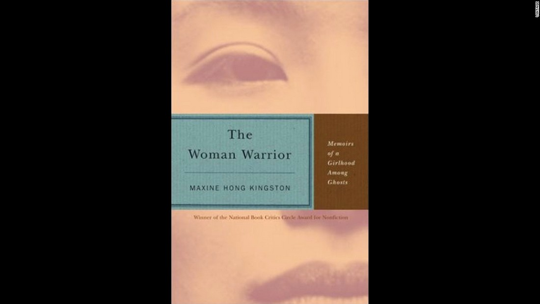 "Maxine Hong Kingston's 1976 memoir ""The Woman Warrior,"" about her Chinese-American girlhood, is a brilliant example of merging a fantastic style with real events, Karr writes. ""The ghostly comes off as the truest way to render her internal dramas. She doesn't know what to believe and what's myth,"" Karr says."