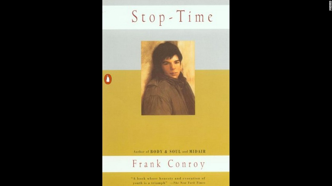 "Frank Conroy's 1967 ""Stop-Time"" comes up frequently in ""The Art of Memoir."" Conroy, who grew up poor in Florida and New York -- the subject of ""Stop-Time"" -- was a writer's writer and directed the Iowa Writers' Workshop for many years.  ""He takes a small moment and renders it so poetically you can't forget it,"" Karr writes."