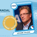 Jerome Valcke FIFA scandal card