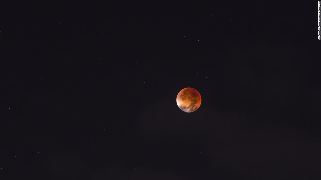 "<a href=""http://ireport.cnn.com/docs/DOC-1273283"">Stojan Stojanovski </a>took a collection of photos of the supermoon eclipse in Ohrid, Macedonia. He said all the weather websites predicted cloudy, rainy skies. ""But I waited and believed that the weather would get better and I would see this fantastic eclipse,"" he said."