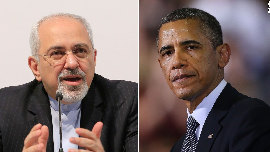 Obama shares historic handshake with Iran foreign minister