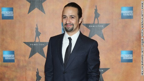 "NEW YORK, NY - AUGUST 06:  Lin-Manuel Miranda attends the ""Hamilton"" Broadway Opening Night at Pier 60 on August 6, 2015 in New York City.  (Photo by Neilson Barnard/Getty Images)"