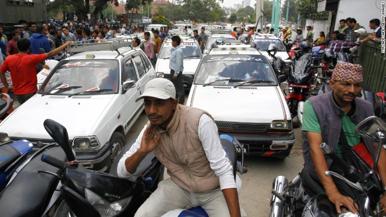 Nepal blames India for fuel crisis
