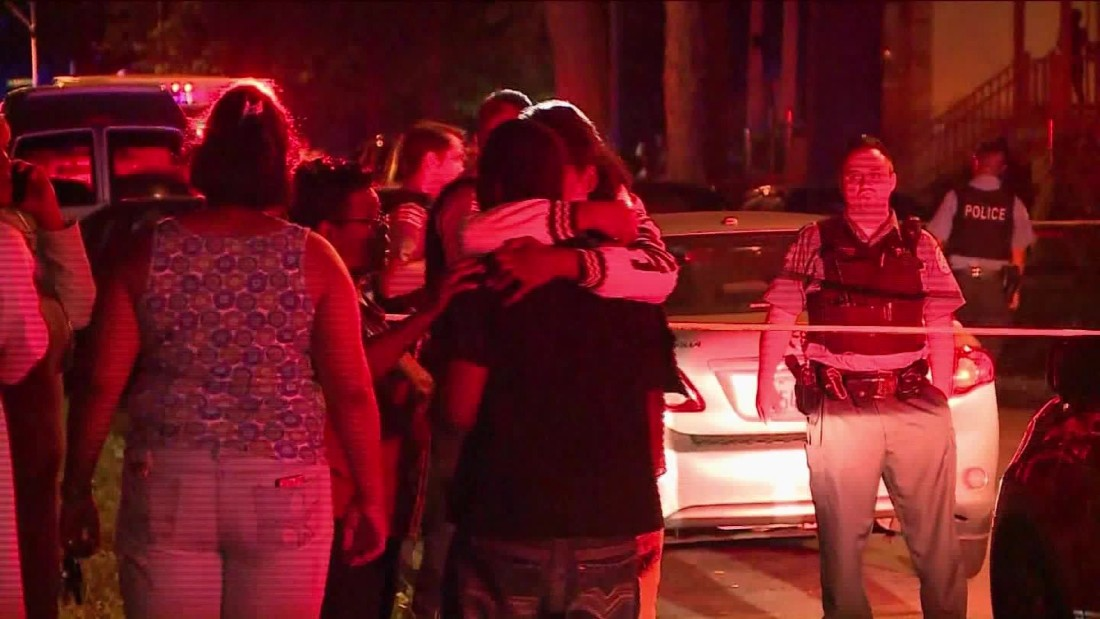 Chicago family gunned down, wounding baby, killing mom, grandmother