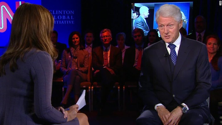 Bill Clinton defends Hillary's time as diplomat
