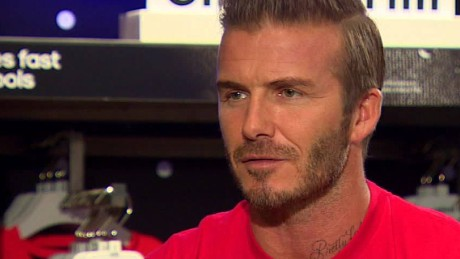 David Beckham talks the future of football