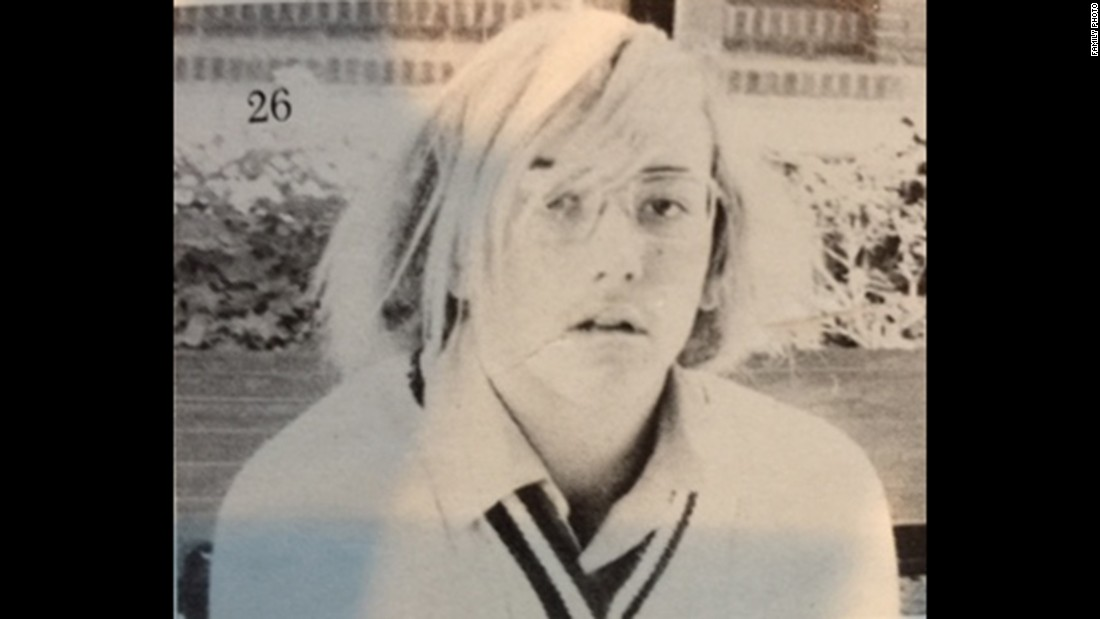 Don't let the hair throw you off. He becomes a doctor with a list of very famous patients.