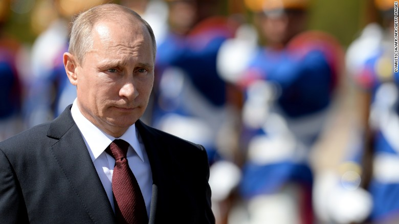 Russia's Vladimir Putin ramps up military presence
