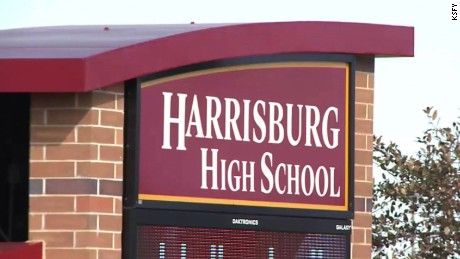 A student shot and injured  Harrisburg High School principal Kevin Lein.