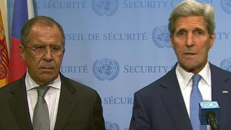 U.S. and Russia release joint statement on Syria