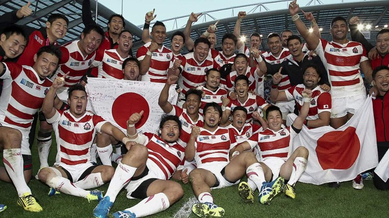 Japan's Rugby team is reaching for the knock-out round