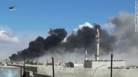 Russia launches new wave of airstrikes in Syria