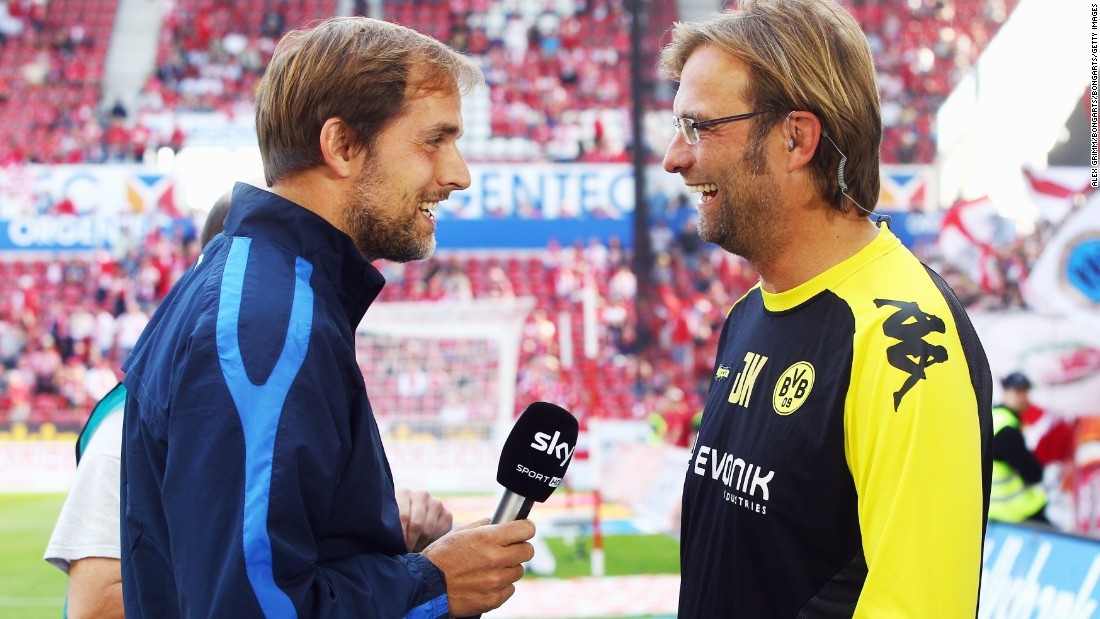 Will Tuchel be asking Klopp for advice on how to beat Bayern? Klopp enjoyed eight wins over the Bavarians during his time at Dortmund.
