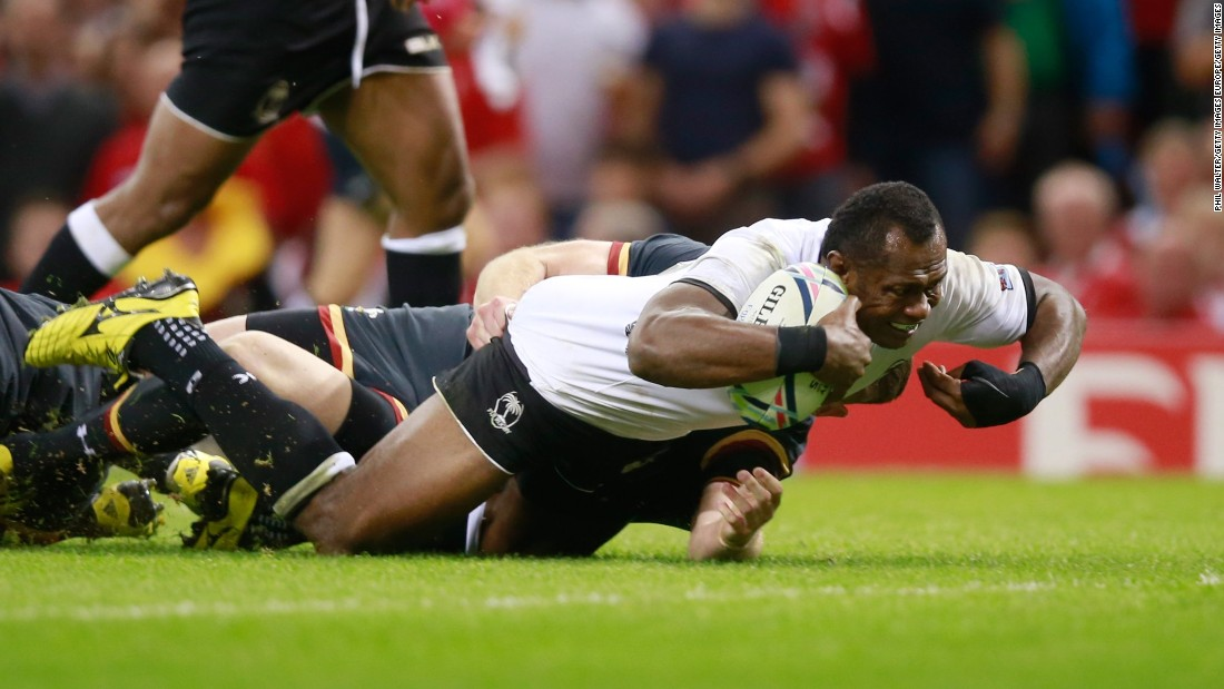 Fiji, who shocked Wales 38-34 at the 2007 World Cup, gave the home side a real scare in the second half. A wonderfully worked try finished off by Vereniki Goneva gave Wales the wobbles but it held out to win 23-13.