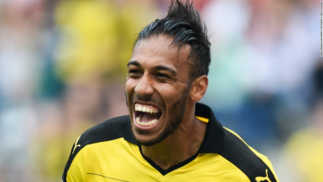 Although they can no longer rely on Lewandowski, Dortmund can call on the goalscoring prowess o Pierre-Emerick Aubameyang. The Gabon striker became the first player to score in the first seven games of a Bundesliga season and his nine goals so far this campaign have propelled Dortmund into second place -- four points behind Bayern.