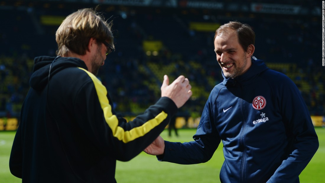 One sabbatical ends, another begins. When Klopp decided to take time out of football following seven years at Dortmund, it paved the way for Tuchel to end his own spell away from the sport. Tuchel enjoyed a productive spell as coach at Mainz -- where he also succeeded Klopp -- and guided the team into the Europa League.