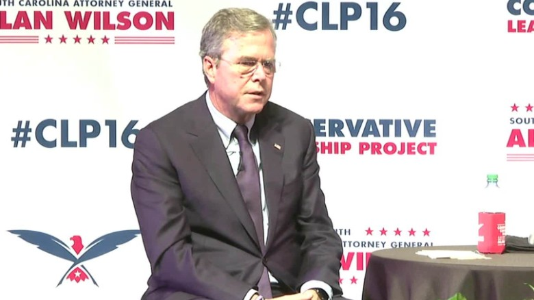 Jeb Bush says 'stuff happens' in response to gun violence