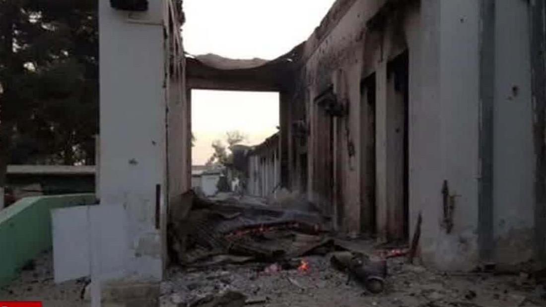 Air attacks kill at least 19 at Afghanistan hospital; U.S. investigating