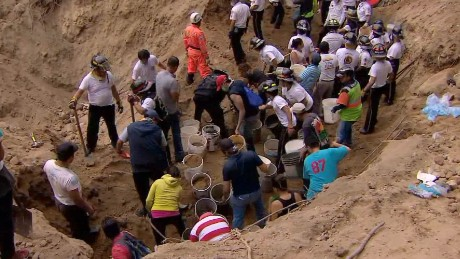 Hundreds feared missing in Guatemala landslide
